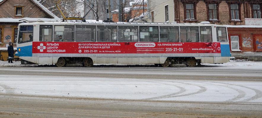 Нижегородцы смогут отследить движение трамваев в Яндексе