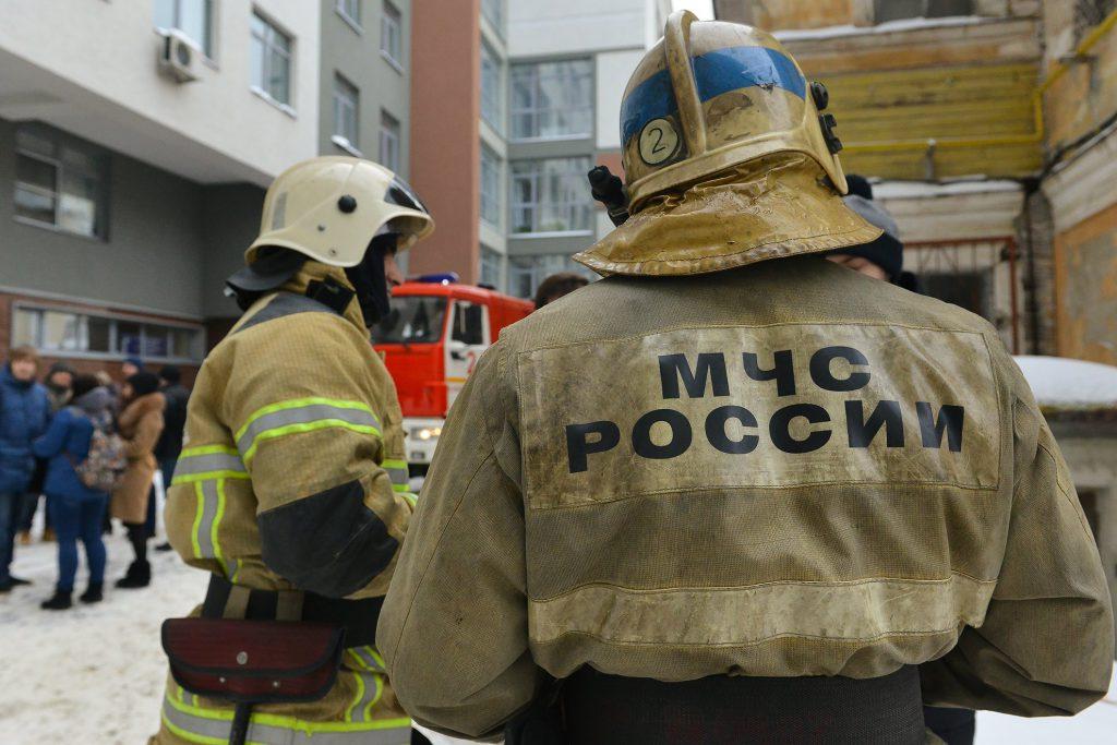 Эвакуация из бизнес-центра на Ульянова 10а