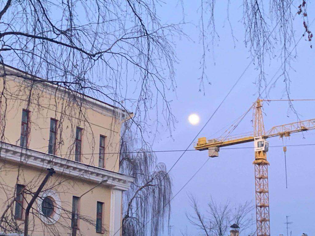 Сегодня самая большая луна в этом году