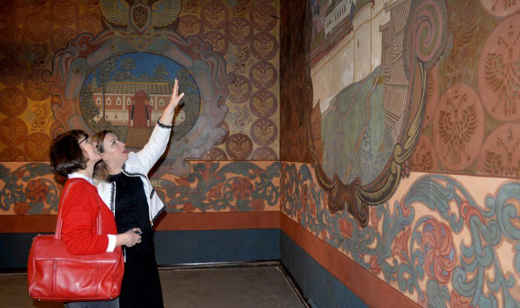 Юлия Серова: «Реставрация росписей в здании Банка на Покровке не прошла без неожиданностей»