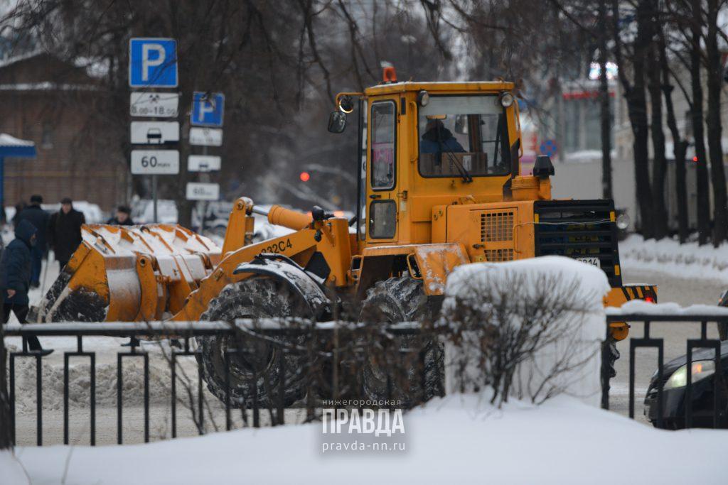 Жители заречной части Нижнего Новгорода более удовлетворены уборкой снега, чем жители нагорной части города