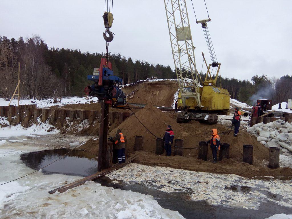 Началось строительство нового моста через Узолу в Городецком районе