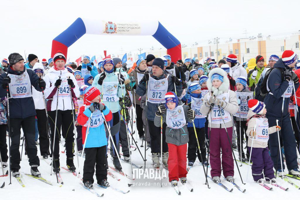 Опубликована программа массовой гонки «Лыжня России – 2020» в Нижнем Новгороде