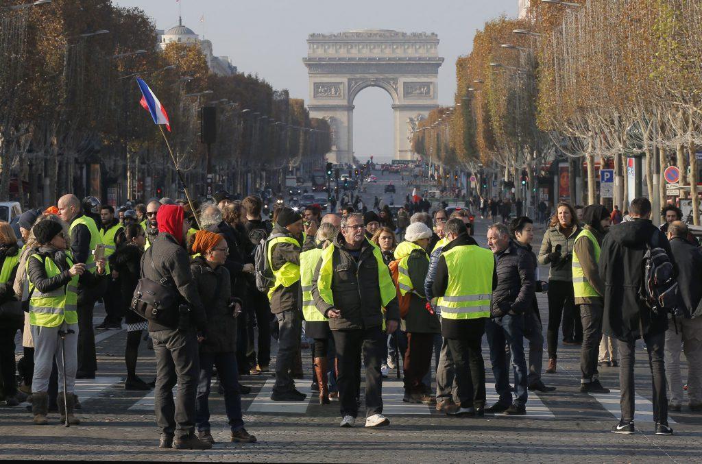 Екатерина Рыжакова: «Кризис жёлтых жилетов стал некой лакмусовой бумажкой, показавшей истинную ситуацию во Франции»