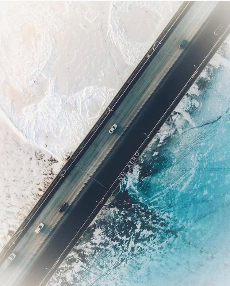 Пролетая над Канавинским мостом