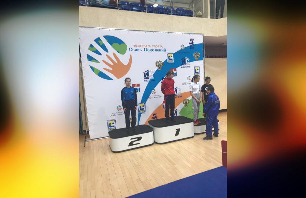 Юная нижегородка заняла второе место на первенстве России по вольной борьбе