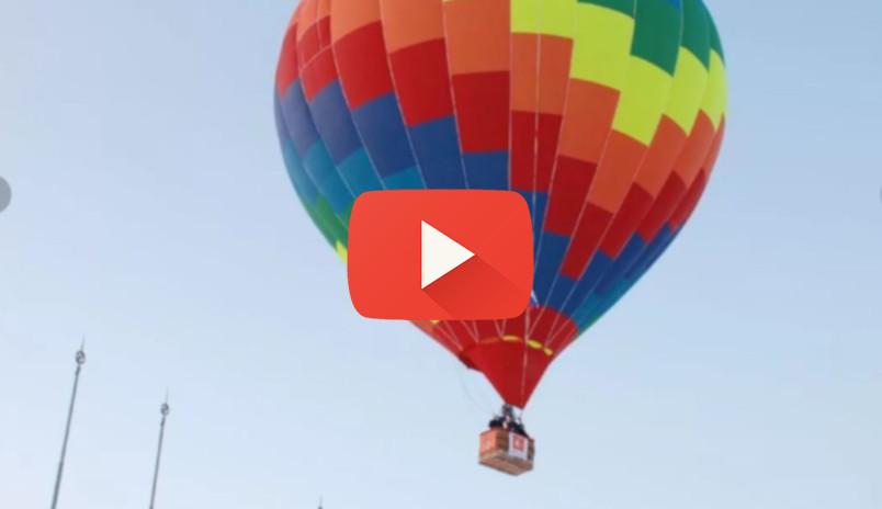 ННТВ: Воздушные шары поднялись над Нижним Новгородом