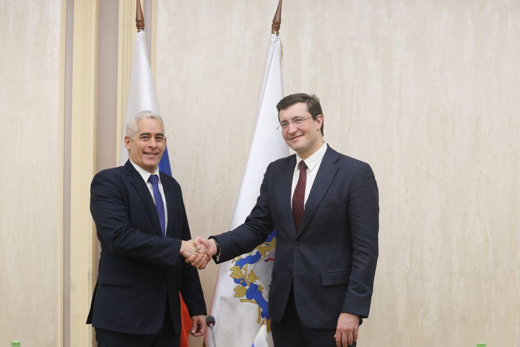 Губернатор Нижегородской области и посол Республики Кубы обсудили возможности укрепления двустороннего сотрудничества