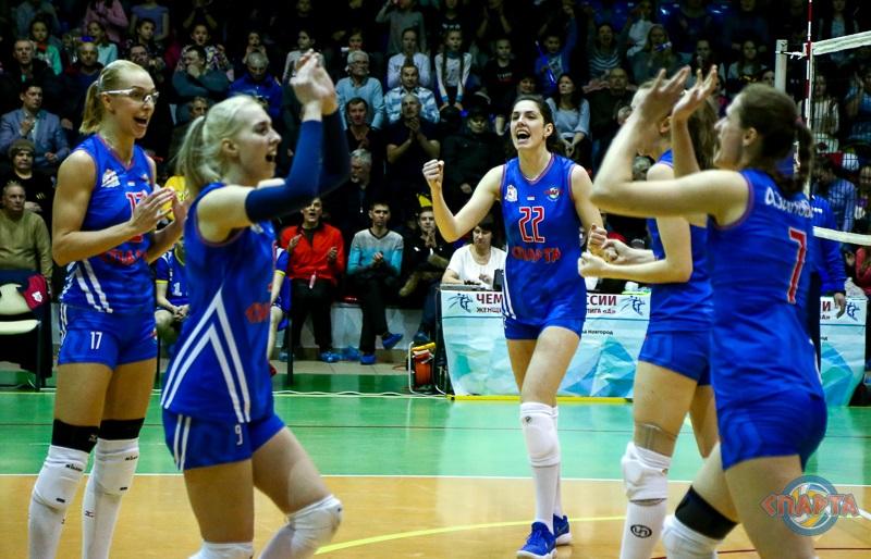 Нижегородские волейболистки прошли в полуфинал Чемпионата России