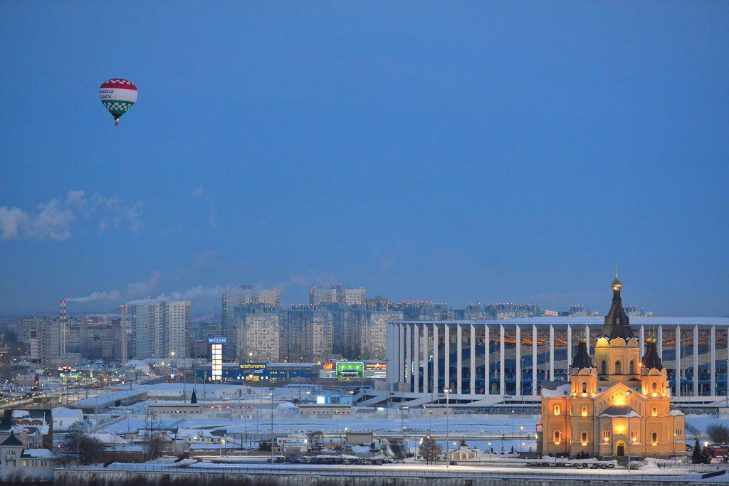 В Нижнем Новгороде пройдет гонка воздушных шаров «Кубок вызова SharNN 2020»