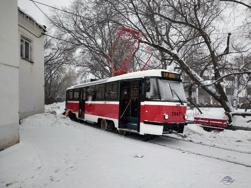 На нижегородские трамвайные маршруты выйдет новый модернизированный вагон
