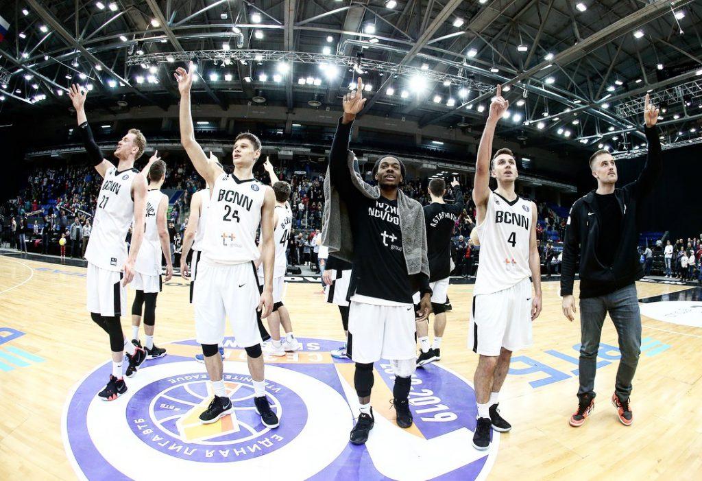БК «Нижний Новгород» сыграет домашний матч с «Джайентс Антверп» из Бельгии