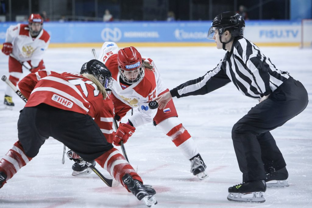Женская сборная России по хоккею обыграла команду из Канады на Универсиаде-2019