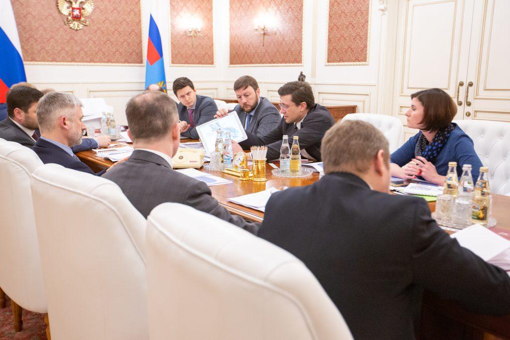 В Нижнем Новгороде создадут рабочую группу по вопросам строительства гидроузла