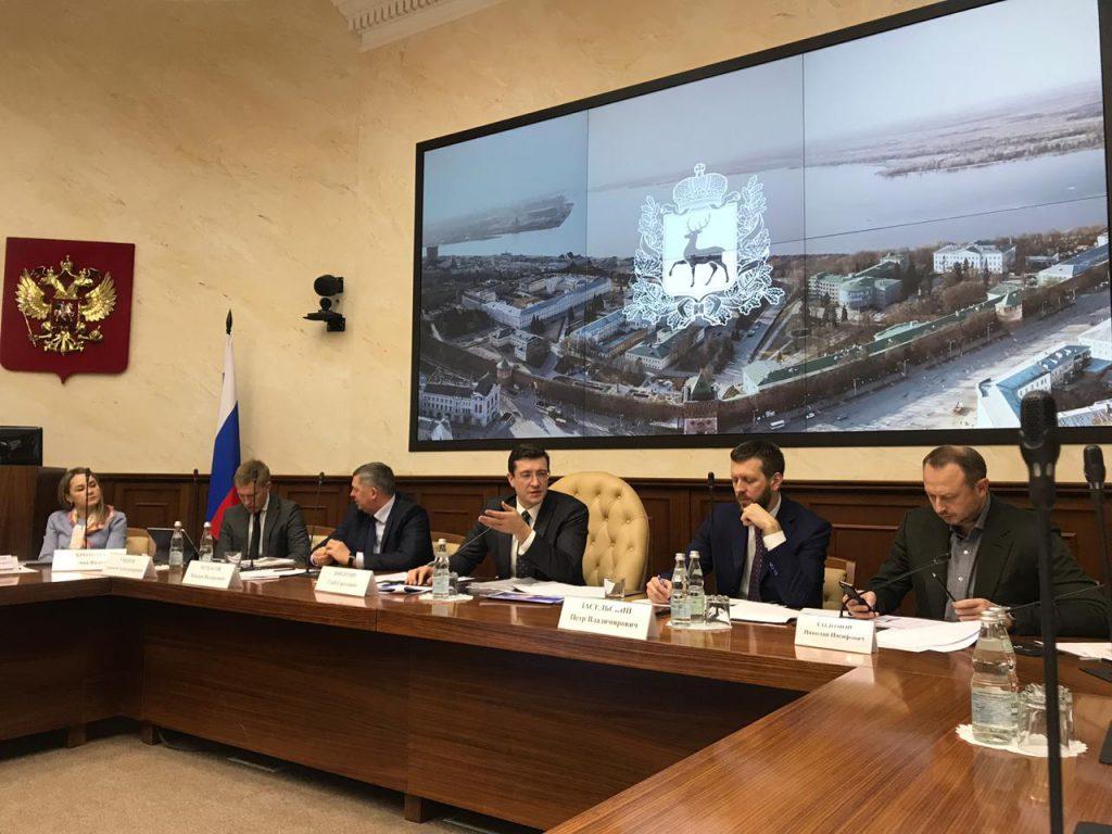Глеб Никитин обсудил производительность труда в Госсовете РФ