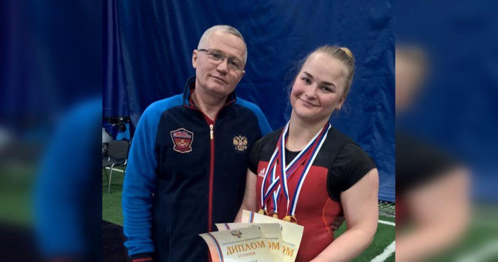 Нижегородка выиграла золото первенства России по тяжёлой атлетике
