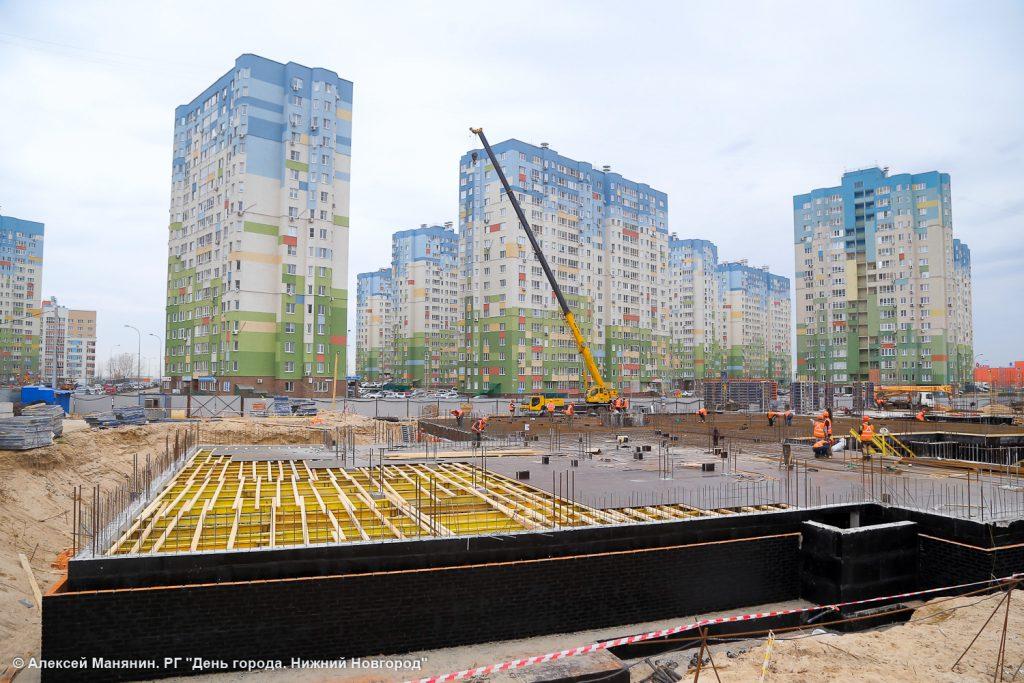 Новый детский сад в микрорайоне «Седьмое небо» появится к концу года
