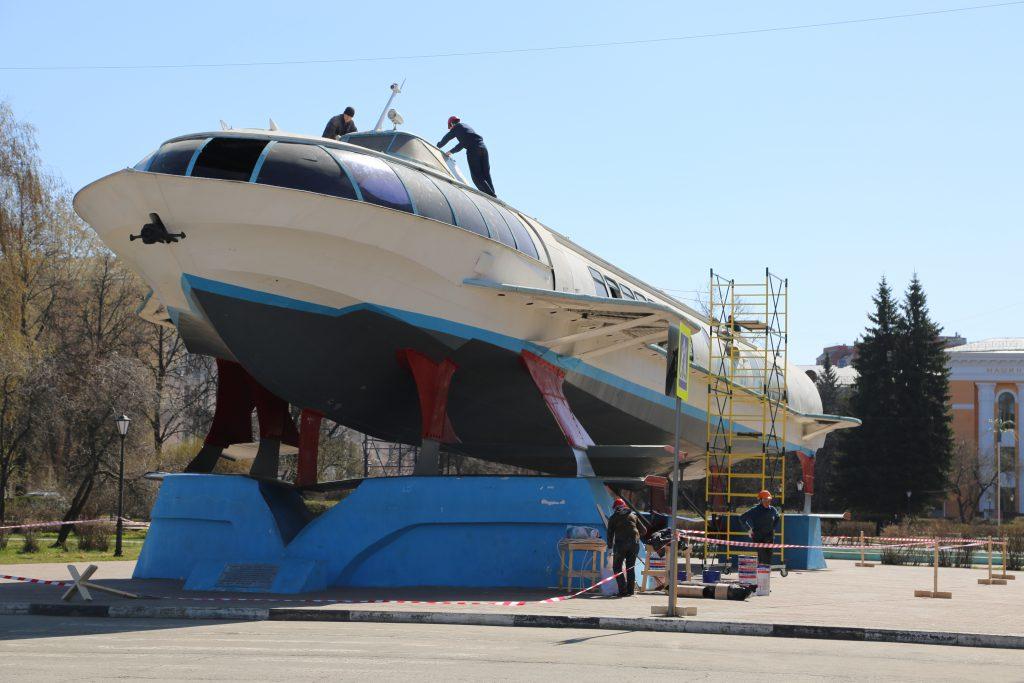 Памятник «Метеор» в центре Сормова восстановят к 1 мая