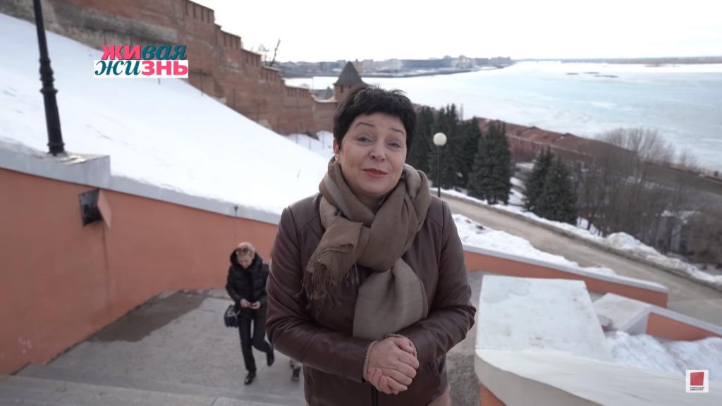 «Какая мощь, какая красота!» «Первый канал» показал сюжет-экскурсию Натальи Барбье по Нижнему Новгороду (ВИДЕО)