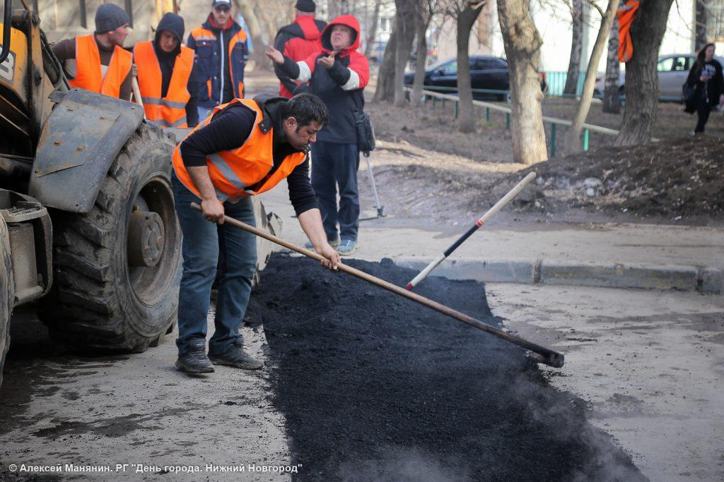 Все дорожные объекты, запланированные к ремонту в Нижегородской области, включили в план-график торгов