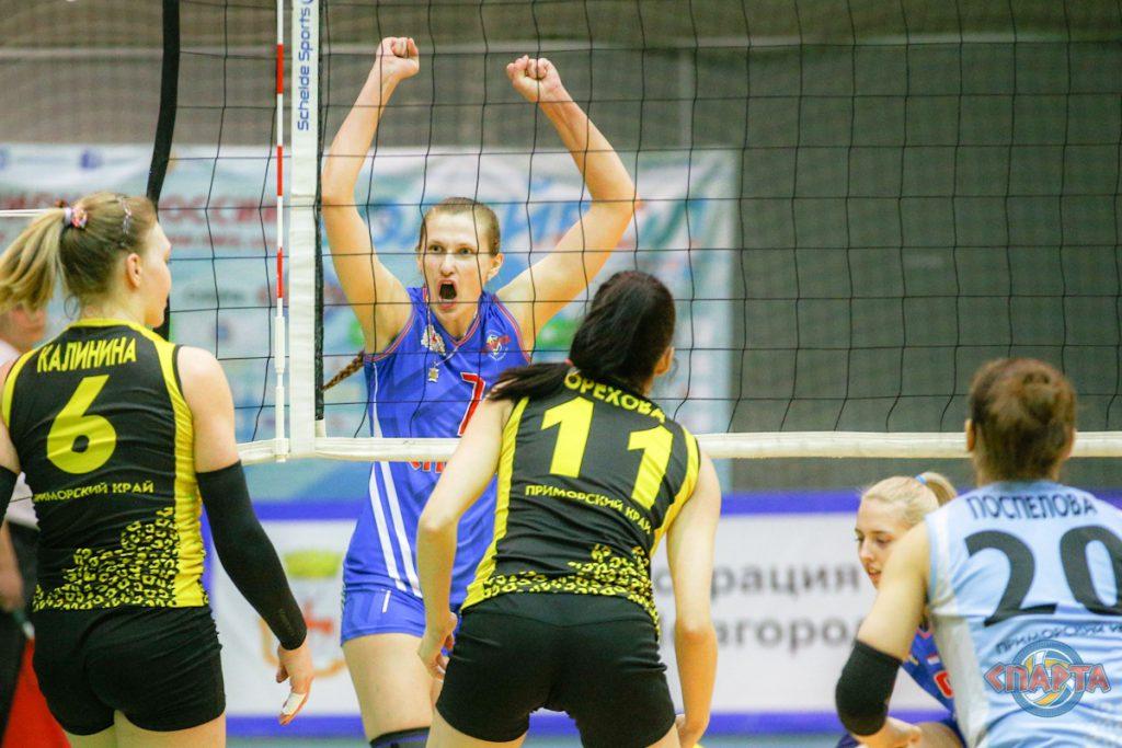 «Спарта» в финале. Нижегородские волейболистки поборются за золото в Чемпионате России