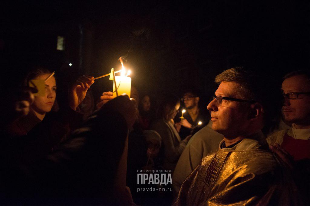 Нижегородские католики отметили Пасху