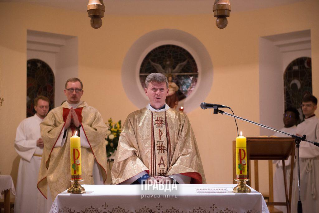 Нижегородские католики встретили Пасху онлайн