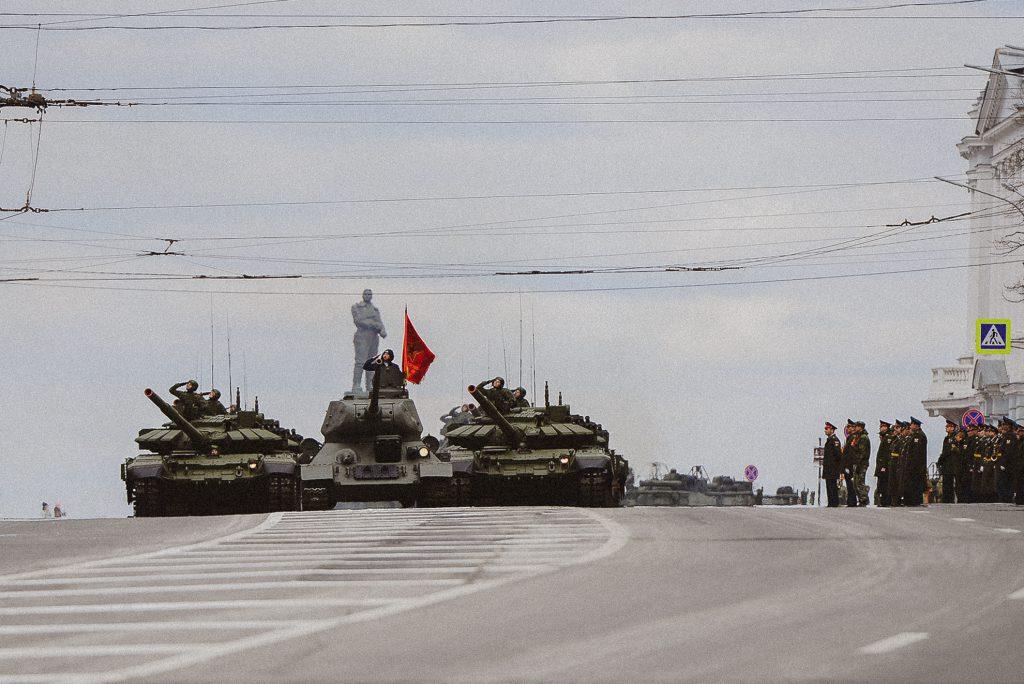 14 фото с репетиции парада. В Нижнем Новгороде готовятся к празднику Победы (ФОТО)