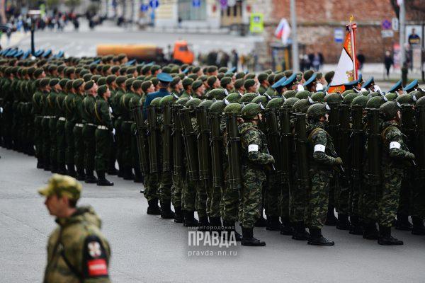 9 мая солдаты армия парад