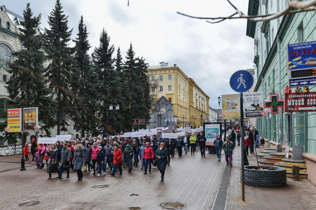 Долой болезни. Как прошел День здоровья в Нижнем Новгороде
