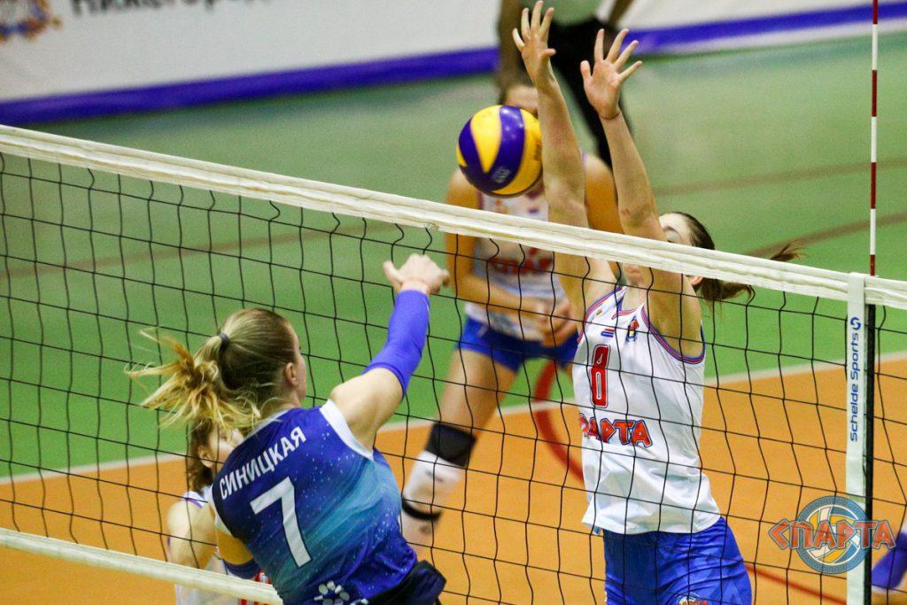 Нижегородские волейболистки выиграли два матча финала Высшей Лиги