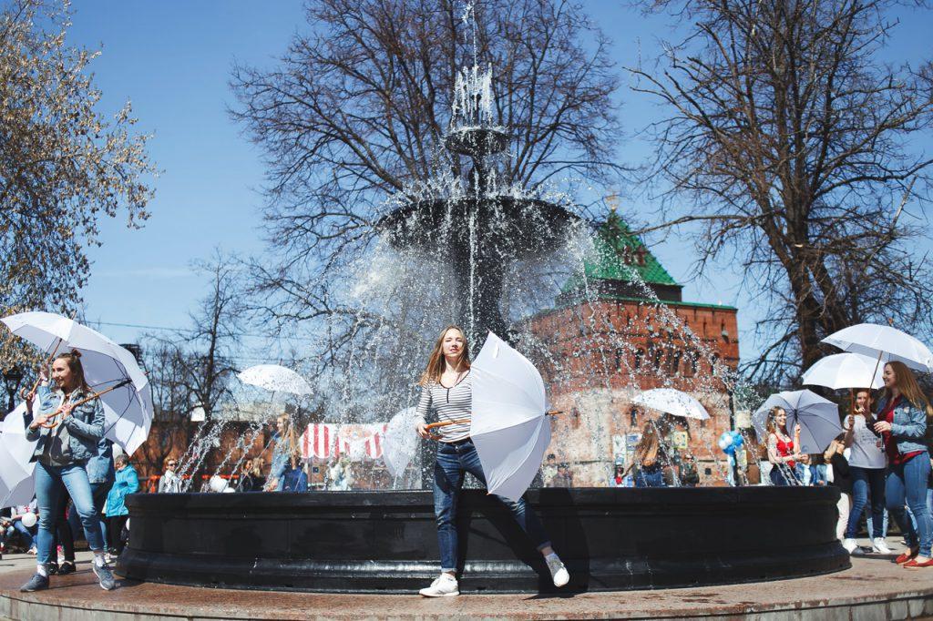 Сезон фонтанов открывается в Нижнем Новгороде
