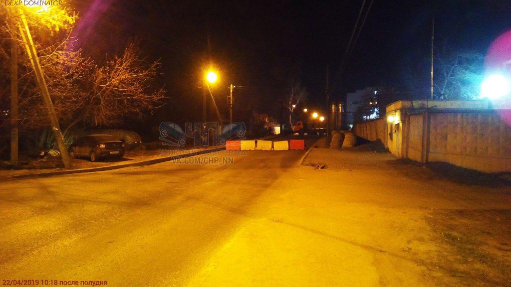 В Нижнем Новгороде перекрыли улицу Баумана