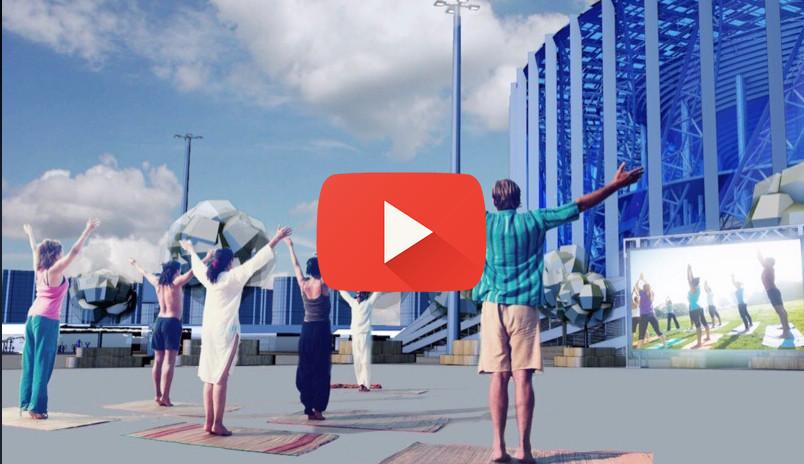 Спортсмены Нижнего Новгорода собрались, чтобы пригласить нижегородцев на площадку «Спорт Порт»