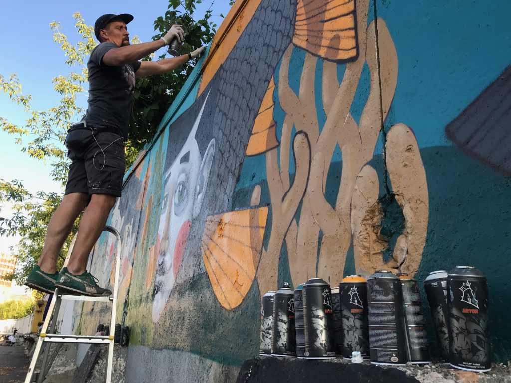 Стрит-арт художники распишут забор у завода «Красное Сормово»