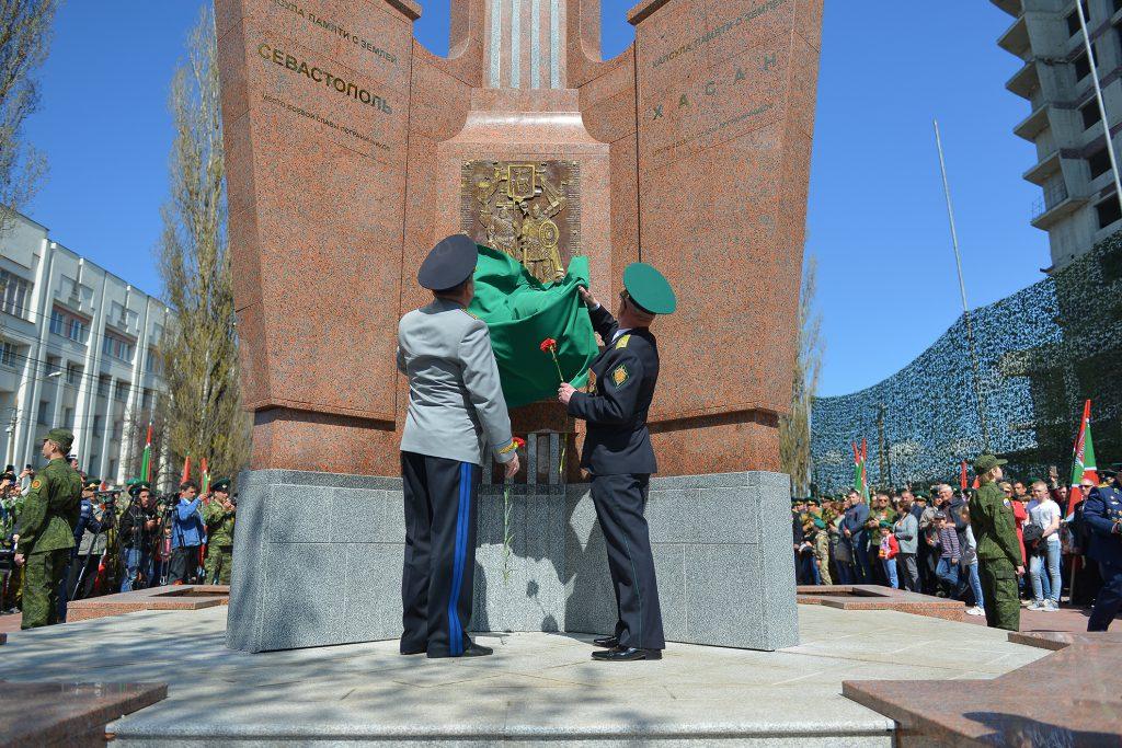 Памятник «Пограничникам всех поколений» открыли в Нижнем Новгороде