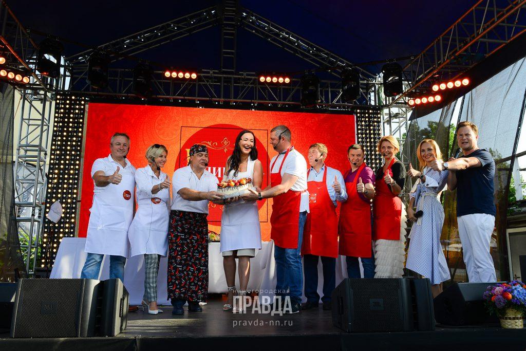 Нижегородские министры устроили кулинарный поединок