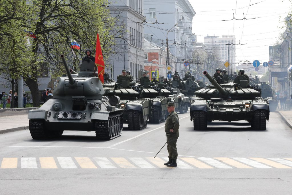 Генеральная репетиция парада прошла в Нижнем Новгороде