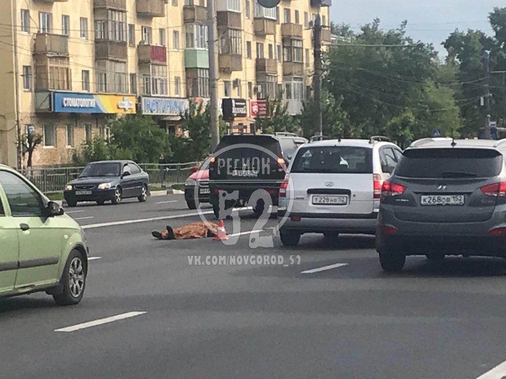 Пенсионерка погибла под колёсами машины на проспекте Ленина в Нижнем Новгороде (ФОТО)