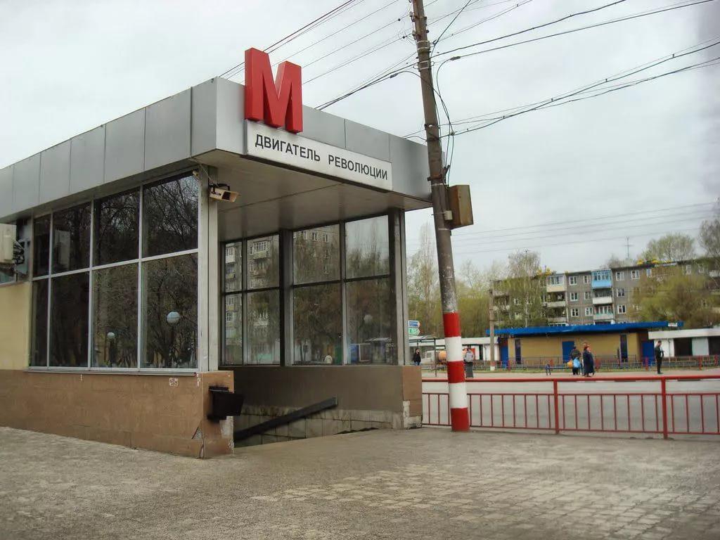 Нижегородская станция метро «Двигатель революции» вошла в ТОП-3 самых уродливых в России