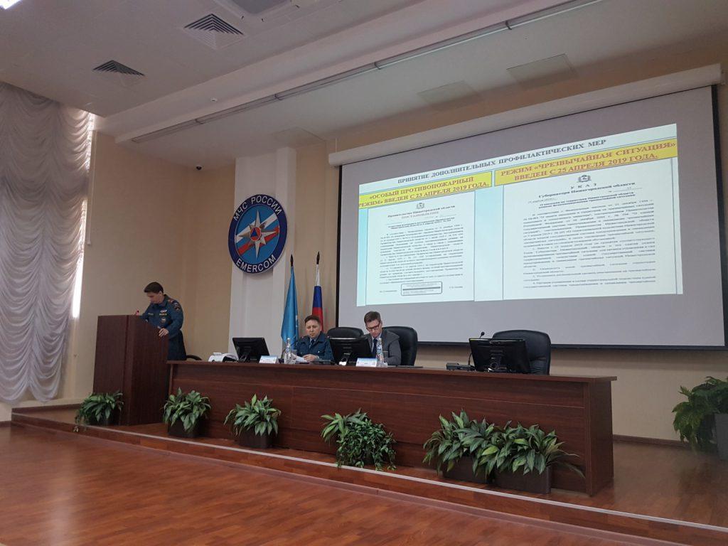 Комиссия почрезвычайным ситуациям рекомендовала отменить вНижегородской области режимЧС