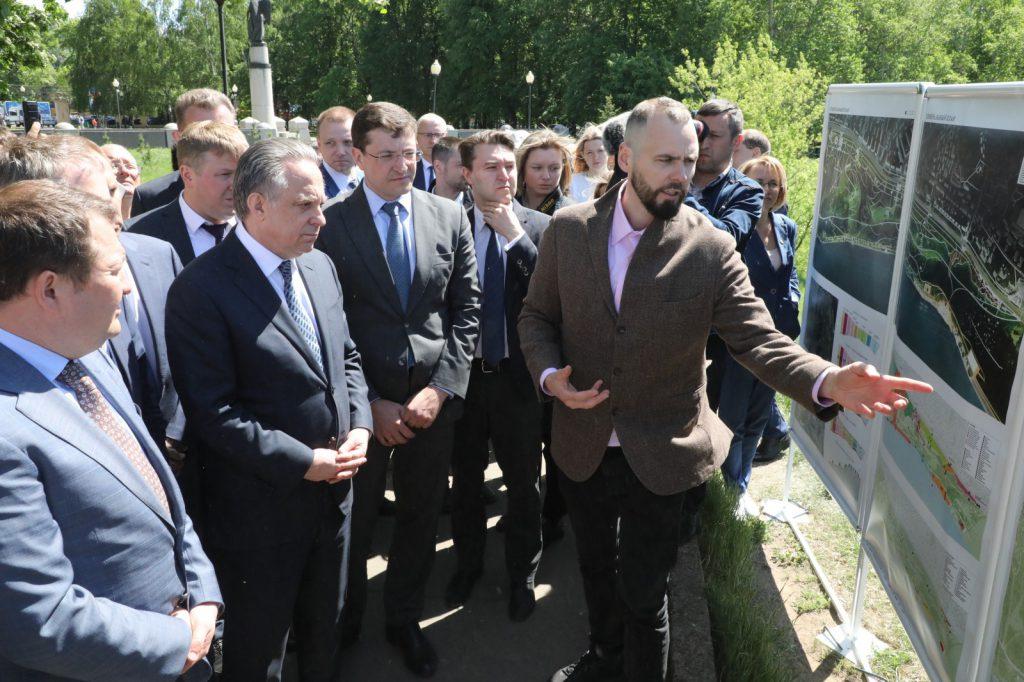 Глеб Никитин обсудил сВиталием Мутко вопрос благоустройства парка «Приокский» врамках подготовки кюбилею Нижнего Новгорода