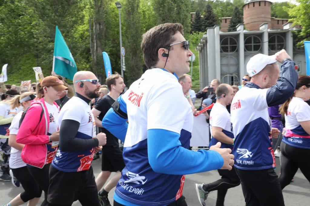 Глеб Никитин принял участие в благотворительном полумарафоне «Беги, герой!»