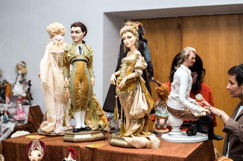 Выставка авторских кукол и медведей Тедди пройдет в Нижнем Новгороде