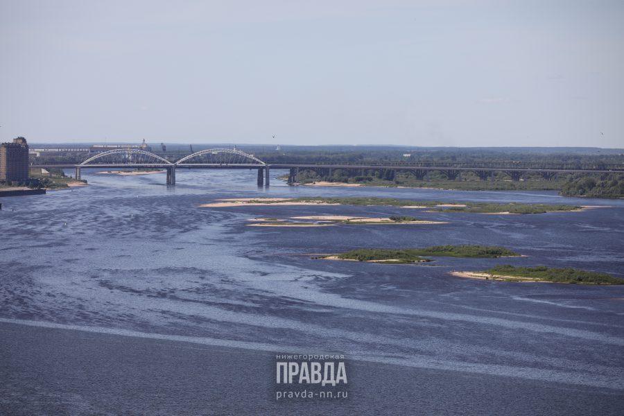 Пассажирское судно «Константин Коротков» село на мель в Нижегородской области