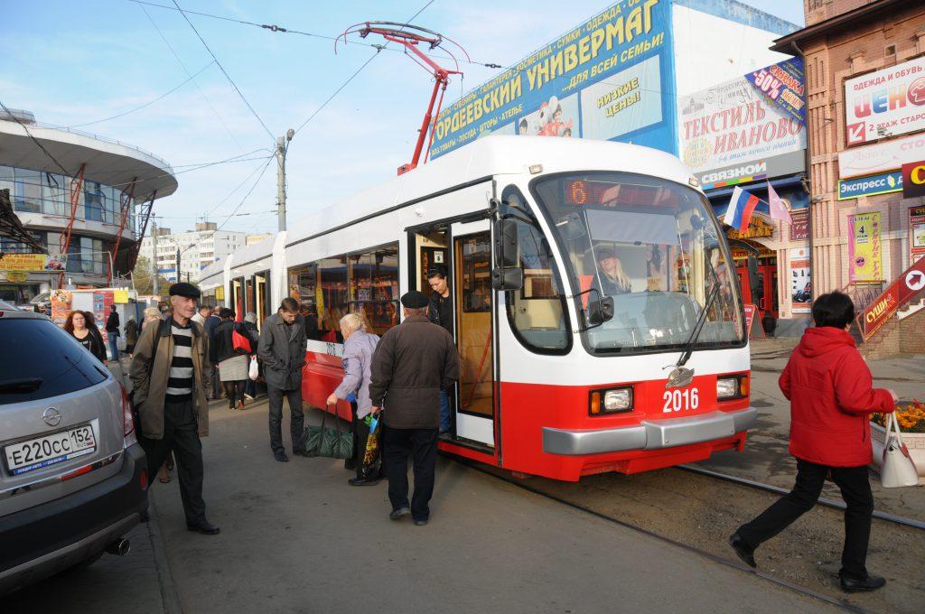 Схема движения трамваев в заречной части Нижнего Новгорода временно изменится