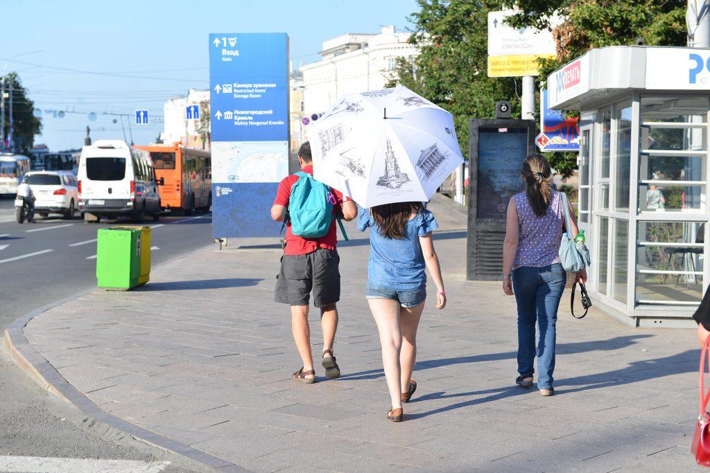 Жара в 30 градусов ждёт нижегородцев в субботу