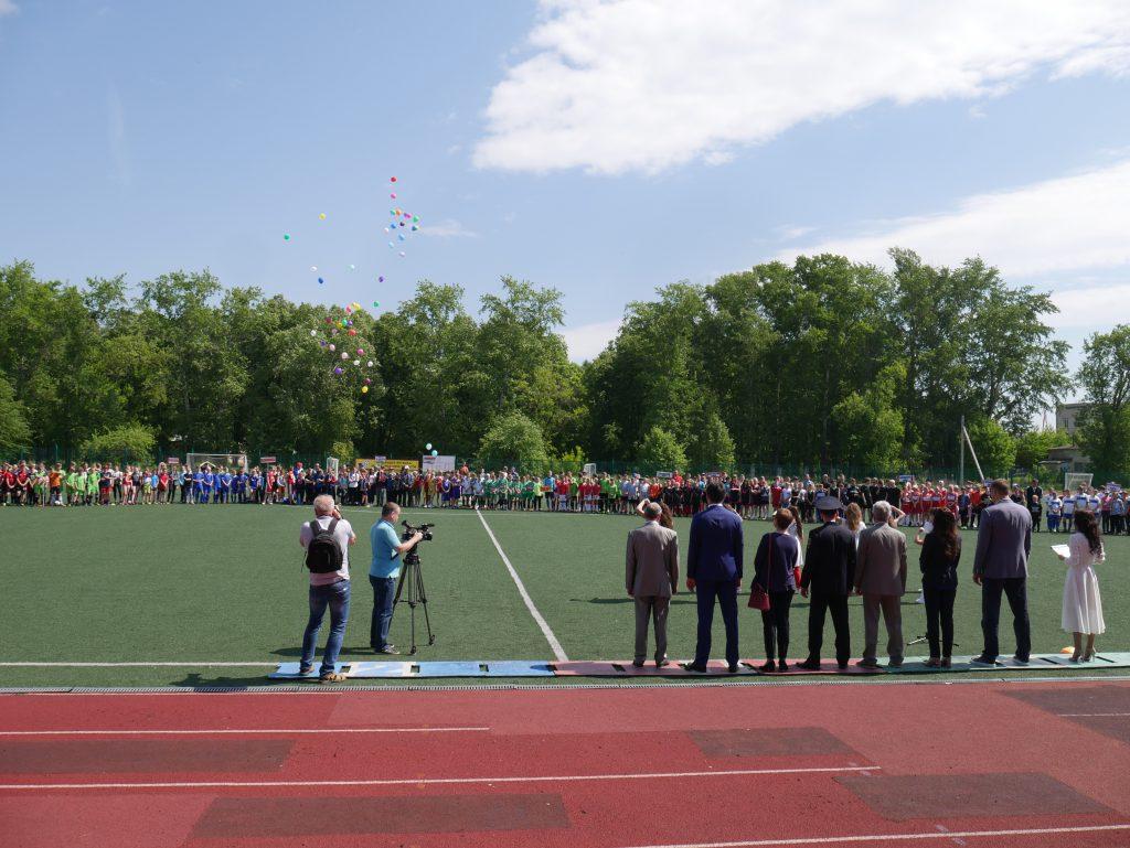 В городе Бор прошёл большой спортивный фестиваль