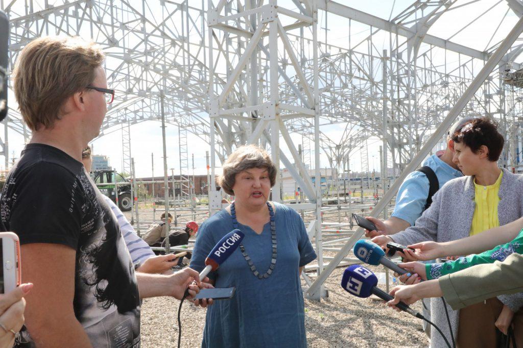 Анна Гор: «Нижний Новгород занял очень серьезное место накарте современного искусства»