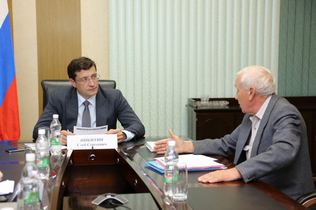 Глеб Никитин провел личный прием граждан вприемной Президента России вПФО